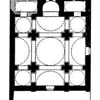 Церковь в Русафе вне стен. 6 век. План