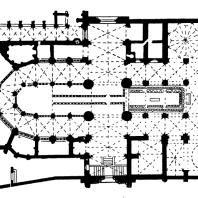 Собор в Бургосе. 1221-1567 гг. План
