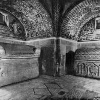 Мавзолей Галлы Плацидии в Равенне. 2-я четверть 5 век. Внутренний вид