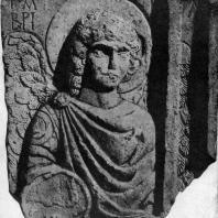 Архангел Гавриил. Рельеф 6 в. Анталья, Музей