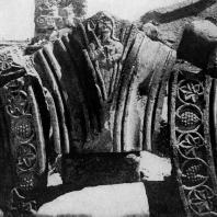 Звартноц. Середина 7 века. Фрагмент декора