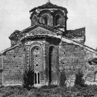 Церковь св. Климента в Охриде. 13 век. Вид с востока