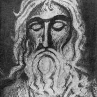 Святой. Фрагмент фрески церкви Спаса Нередицы близ Новгорода. 1199 г.
