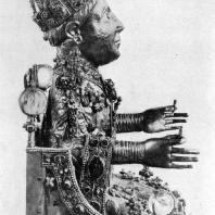 Статуя св. Веры во славе. Конец 10 века. Конк