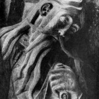 Пророк Исайя. Статуя портала церкви в Суйяке. Середина 12 в.