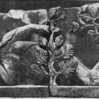 Ева. Рельеф с притолоки портала собора в Отене. 12 в. Отен, Музей