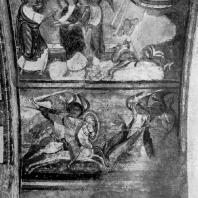 Эпизоды из Апокалипсиса. Фрески церкви Сен Савен сюр Гартан. Начало 12 в.