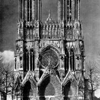 Собор Нотр-Дам в Реймсе. 1210 г.- начало 14 в. Западный фасад