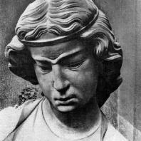 Неразумная дева. Статуя собора в Страсбурге. Фрагмент. Южный портал западного фасада. Конец 13 в.