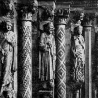 Собор во Фрейберге. «Золотые ворота». Фрагмент
