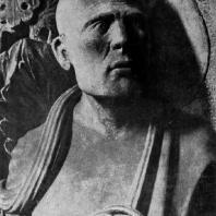 Пророк Иона. Рельеф собора в Бамберге. Фрагмент