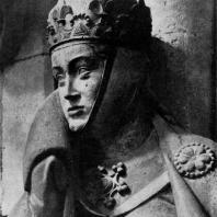 Ута. Статуя собора в Наумбурге. Фрагмент