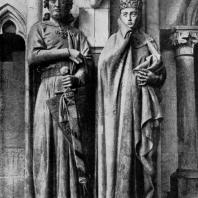 Эккегард и Ута. Скульптурная группа собора в Наумбурге