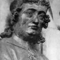Эккегард. Статуя собора в Наумбурге. Фрагмент