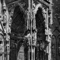 Собор в Регенсбурге. Около 1275-1524 гг. Портал западного фасада