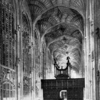 Капелла Королевского колледжа в Кембридже. Около 1446-1515 гг. Внутренний вид