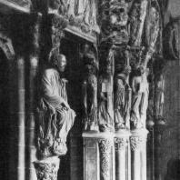 Собор Сант Яго де Компостела. Скульптура Портика славы. 1183 г.