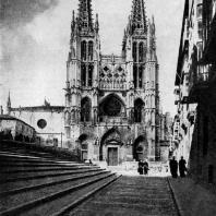 Собор в Бургосе. 1221-1567 гг. Западный фасад
