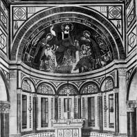 Церковь Сан Миньято аль Монте во Флоренции. Абсида