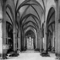 Церковь Санта Мария Новелла во Флоренции. 1278-1350 гг. Внутренний вид