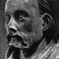 Петр Парлерж. Скульптурный автопортрет в соборе св. Вита в Праге. Последняя треть 14 века