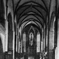 Церковь св. Якуба в Левоче. 14 - начало 15 вв. Внутренний вид