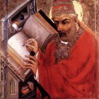 Мастер Теодорих. Святой. 3-я четверть 14 века. Прага, Национальная галерея
