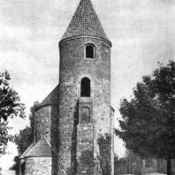Ротонда св. Прокопа в Стшельно 12 в. Вид с запада
