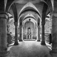 Крипта св. Леонарда в кафедральном соборе на Вавеле в Кракове. Начало 12 века
