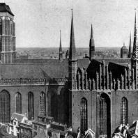 Костел Марии в Гданьске. 14-15 вв. Вид с юга
