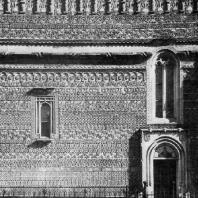 Церковь Трех святителей в Яссах. 1639 г. Фрагмент стены