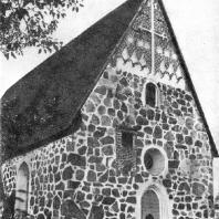 Церковь в Ваная. 14-15 вв. Вид с северо-запада