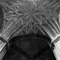 Костел Бернардинцев в Вильнюсе. 1525 г. Фрагмент свода