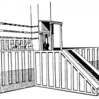 Храм в Эль-Обейде. Реконструкция