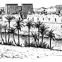 Дворцы в Ахетатоне. Реконструкция