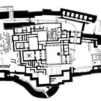 План дворца в Тиринфе