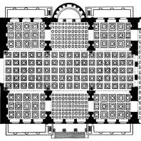 План базилики Максенция