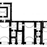 План дворца в Хатре