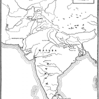 Карта: Древняя Индия