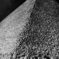 Пирамида фараона Хуфу в Гизэ. IV династия. Первая половина 3 тыс. до н. э.