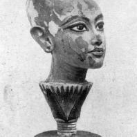 Голова Тутанхамона. 14 в. до н. э.