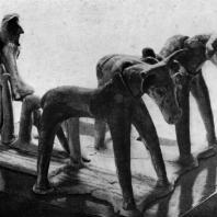 Пахарь. Терракота из Беотии. 8 в. до н. э. Париж. Лувр