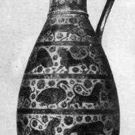 Коринфская ваза. Конец 7 — начало 6 в. до н. э. Париж. Лувр.