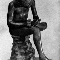 Мальчик, вынимающий занозу. Вторая четверть 5 в. до н. э. Бронзовая римская копия. Рим. Палаццо Консерватори