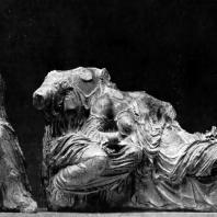 Фидий и его ученики. Мойры с восточного фронтона Парфенона. Мрамор. Лондон. Британский музей