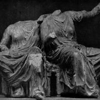 Фидий и его ученики. Оры с восточного фронтона Парфенона. Мрамор. Лондон. Британский музей