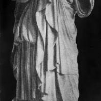 Пракситель. Артемида из Габий. Около 340—330 гг. до н. э. Мраморная римская копия с утраченного оригинала. Париж. Лувр