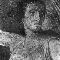 Женщина с покрывалом. Фрагмент росписи Виллы мистерий