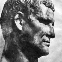 Портрет Агриппы. Мрамор. Начало 1 в. н. э. Париж. Лувр