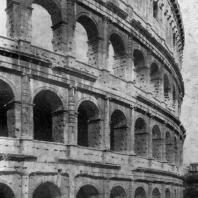 Колизей (амфитеатр Флавиев) в Риме. 75—82 гг. н. э.